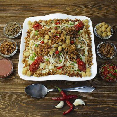In Honor of Ramadan: Beloved Koshari, the National Dish of Egypt