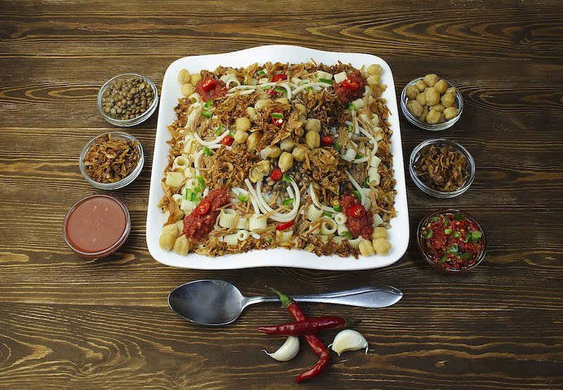 In Honor of Ramadan: Beloved Koshari, the National Dish of Egypt