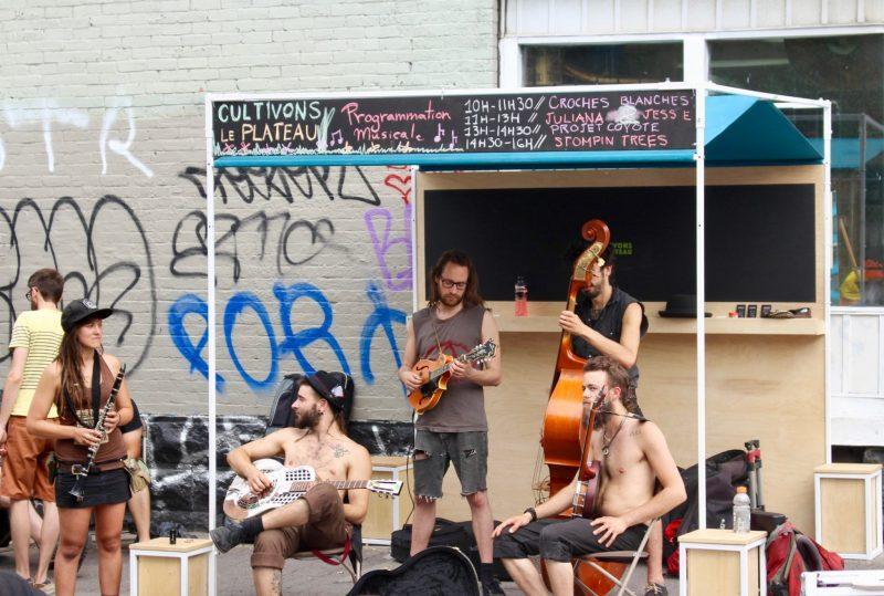 Street musicians, Montreal