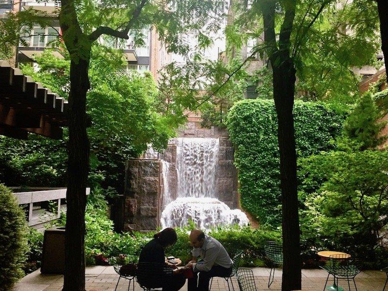 Greenacre Park, New York, NY