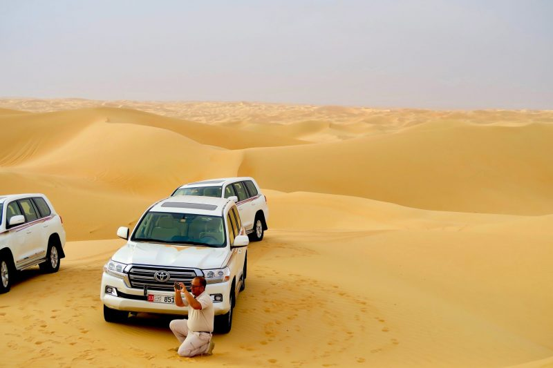Dune Bashing in the Empty Quarter of Abu Dhabi
