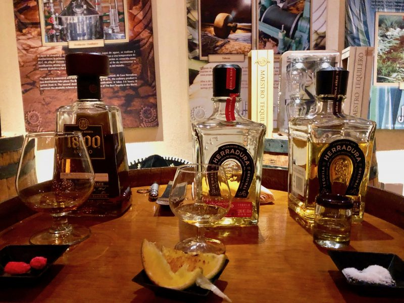 Tequila tasting, Cancun, Mexico